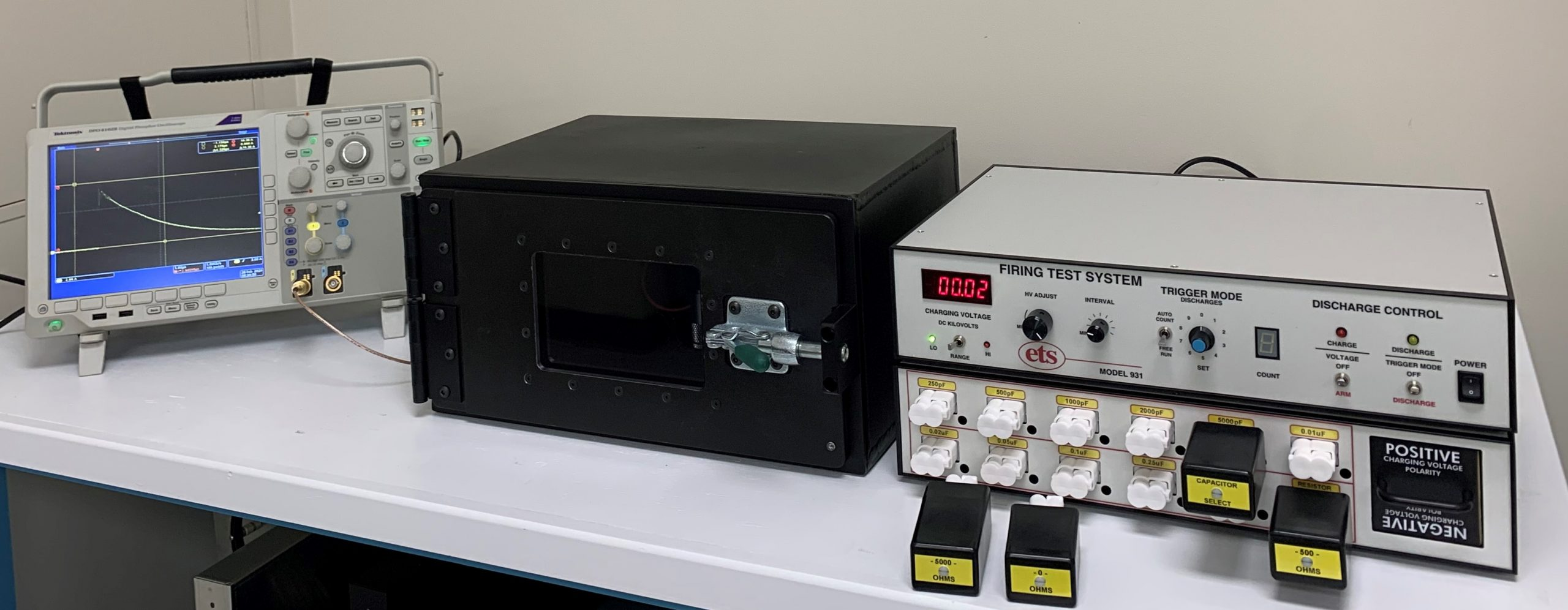 Model 931 – Electrostatic Discharge Firing Test System