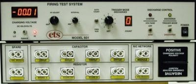 Model 931 – Electrostatic Discharge Firing Test System
