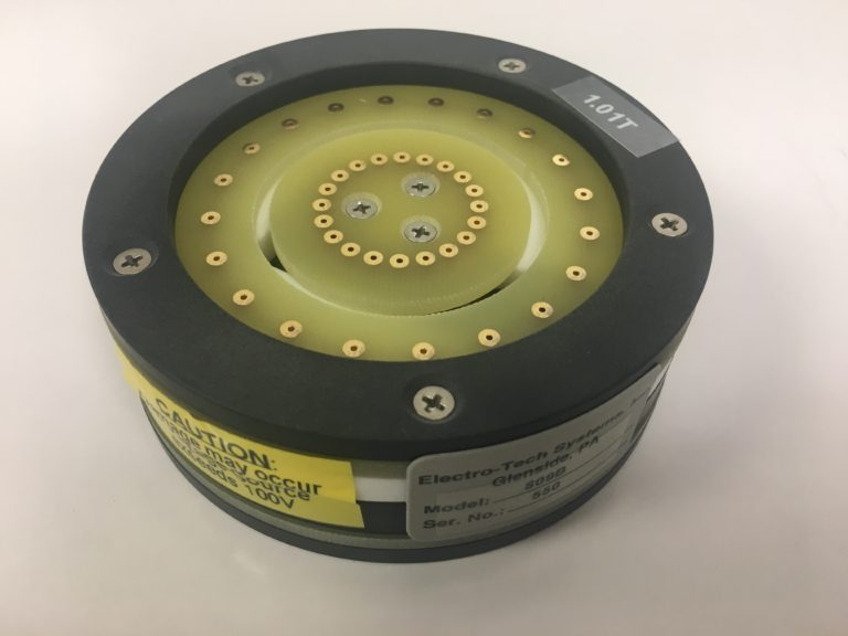 ETS Model 809 Verification Fixture for 803B Concentric Ring Probe Top