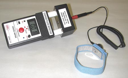Models 205C and 205C-X10 – 20pf Charge Plate Detectors (for Static Meters)