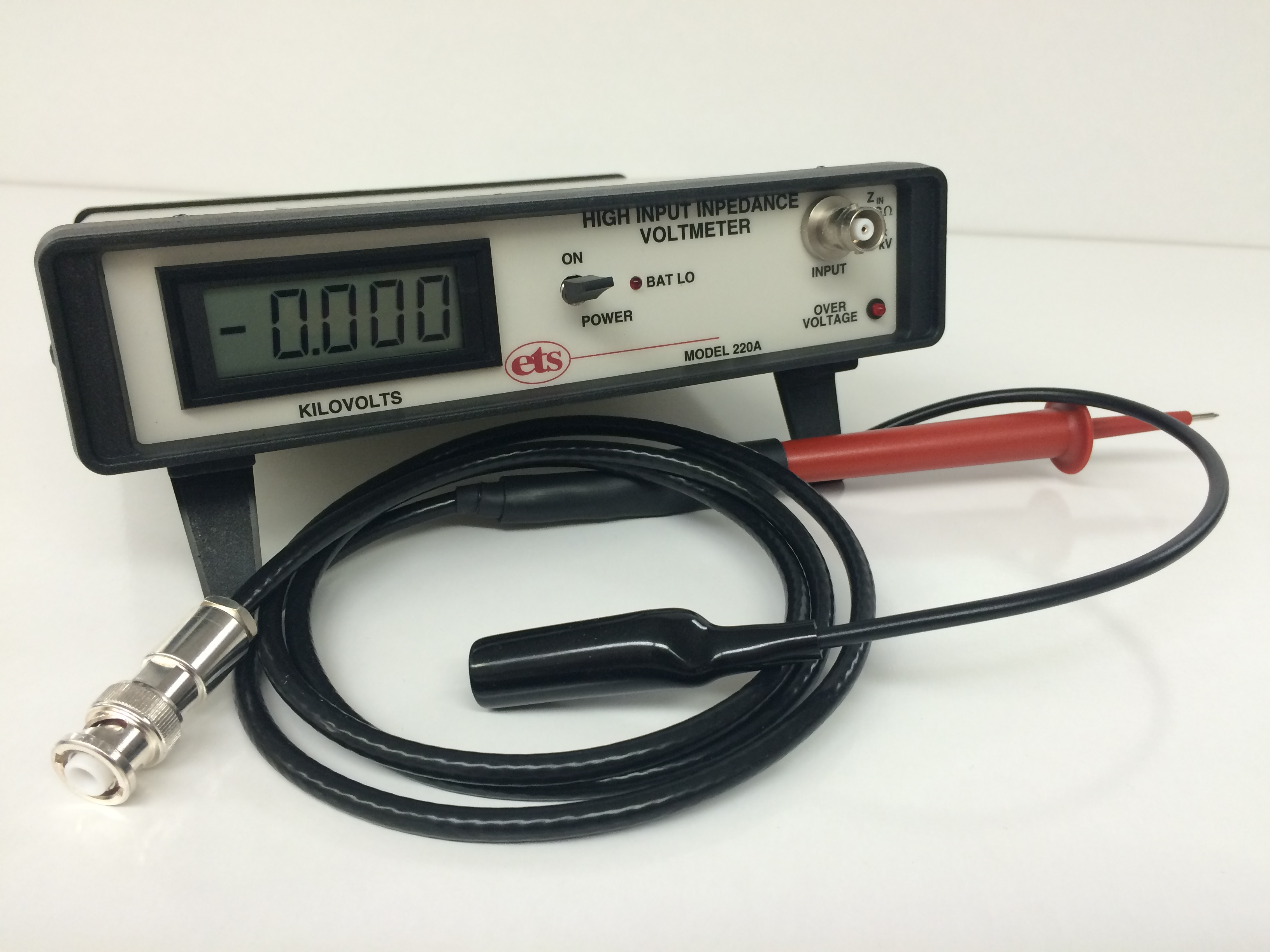 Model 220A – High Impedance Digital Voltmeter (70 Gigohm)