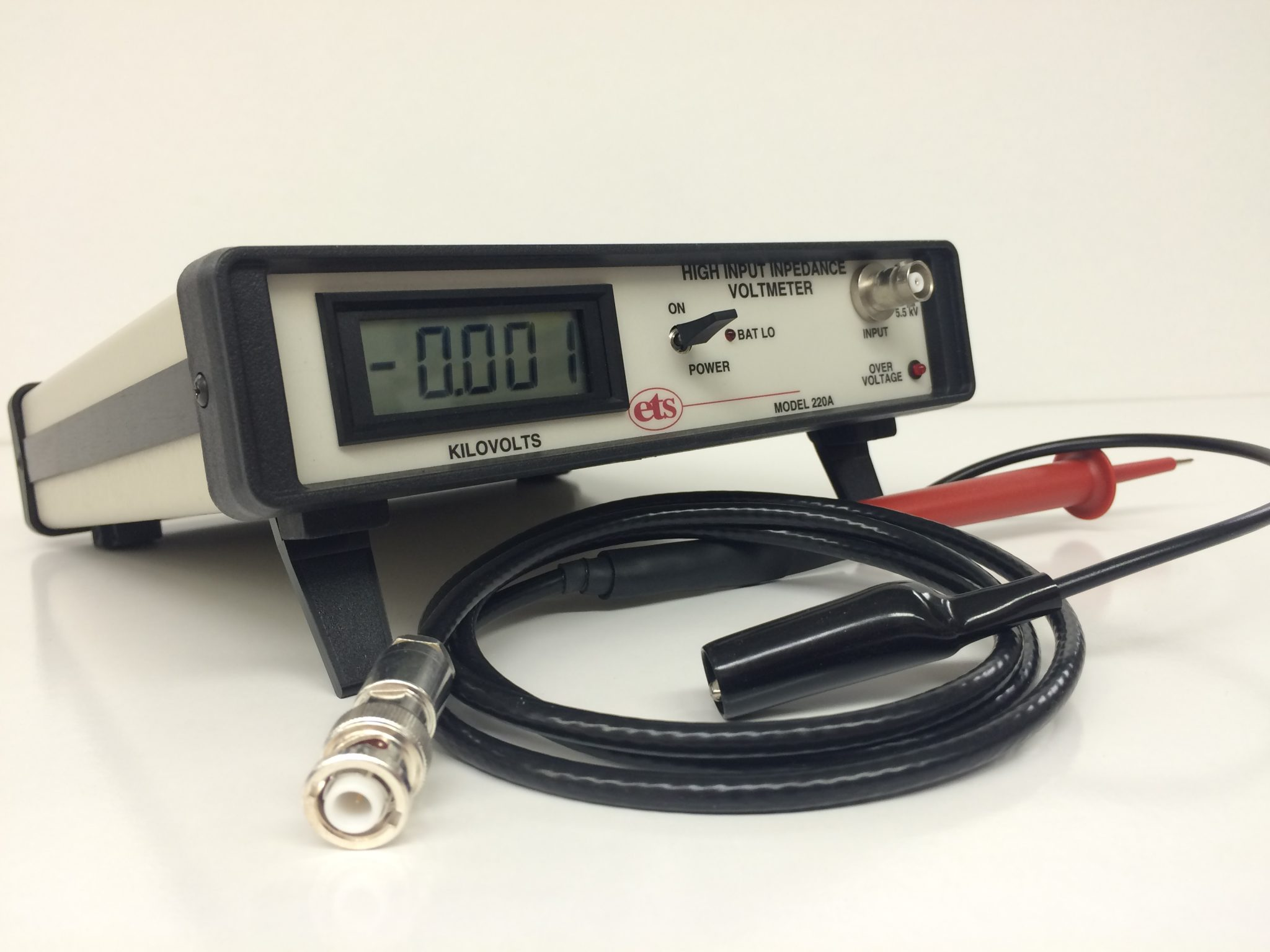 Electrostatic Voltmeters and High Voltage Power Supplies