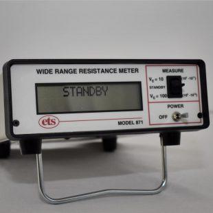Model 871 Wide Range Resistance Meter