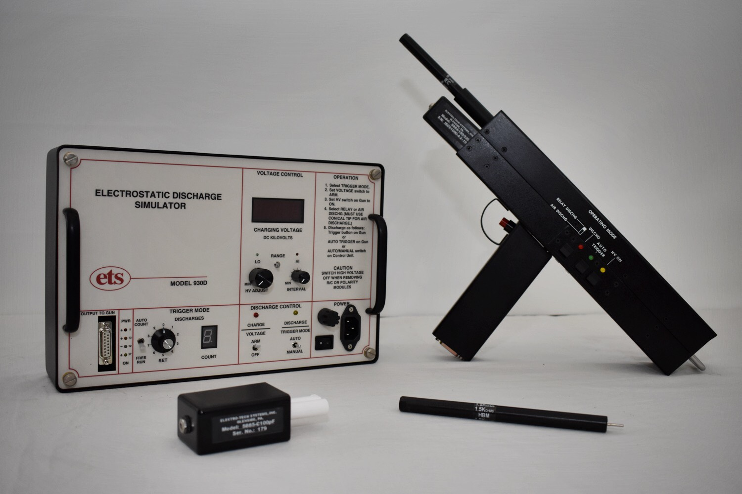 Model 930D ESD Gun – Electrostatic Discharge Simulator