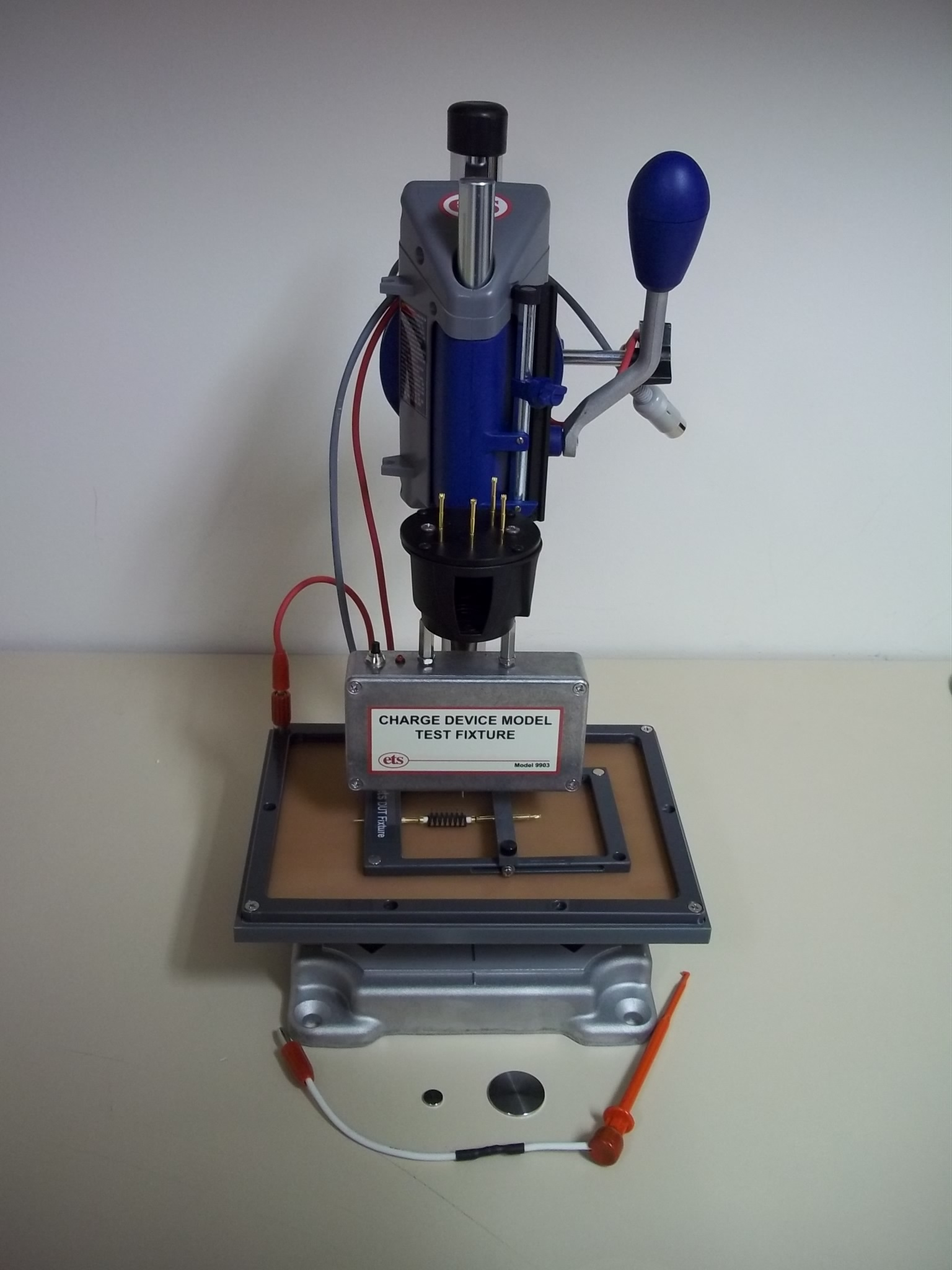 Model 9903 Charged Device Model Test Fixture