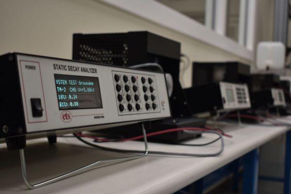M 4406 Static Decay Analyzer Units Testing